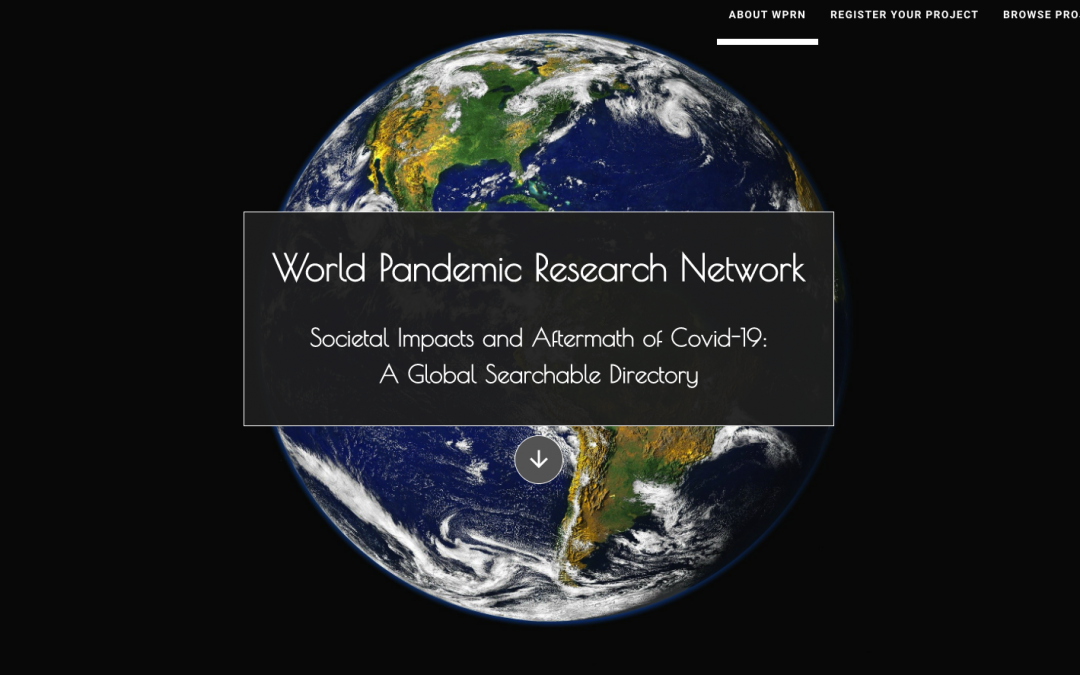 World Pandemic Research Network – notes d'analyse