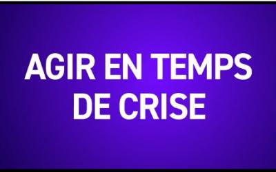 Cycle de rencontres «Agir en temps de crise» (20 janvier – 9 juin 2021)