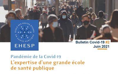 Parution du bulletin Covid-19 de l'EHESP