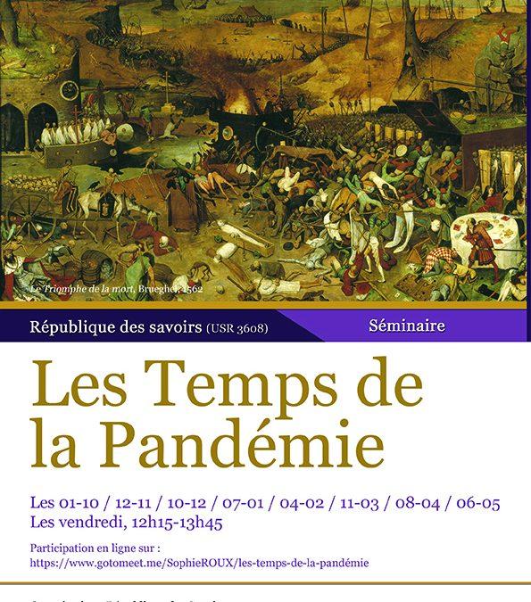 Séminaire « Les temps de la pandémie » (2021-2022)